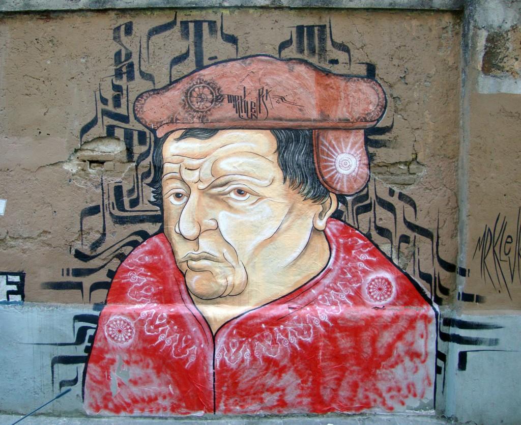 "Mr.Klevra - ""Thomas Müntzer"" Via dei Sabelli, San Lorenzo, Roma, 2013"
